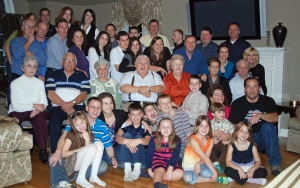 Thanksgiving 2009 with the Daigle family in Dracut, Massachusetts