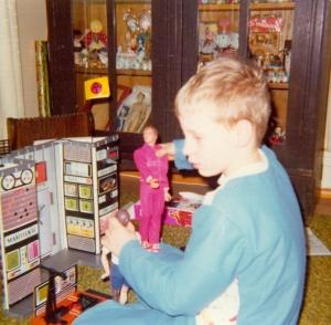 John, Christmas 1976