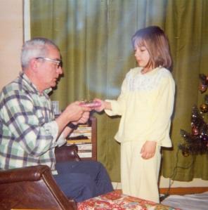 Howard and Karen, Christmas 1976