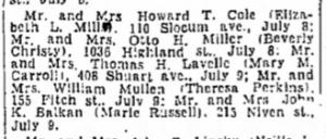 Syracuse Post-Standard, 1947