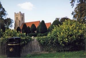 The church in Borley, England - 2000
