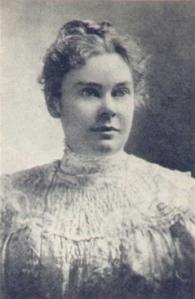 Cousin Lizzie Borden, circa 1889. Photograph within the public domain.