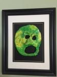 Green mask by Jillian Ellen Phillips (circa 2013)
