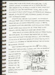 Journal entry by the blogger from a trip to Arizona. Dated 17 May 2006.