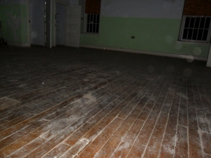 A room full of orbs. Dust or spirits? You decide! (July 2010)