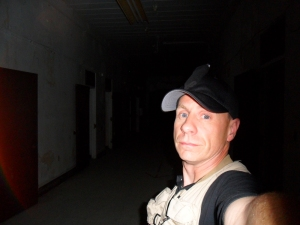 The Blogger at the Trans Allegheny Lunatic Asylum in Weston, West Virginia (2010)