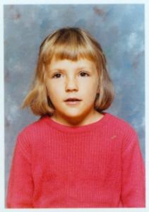 Karen in 1973, age 7.