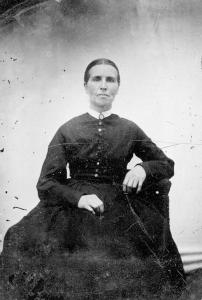 Harriet Louisa Bangs, circa 1850.