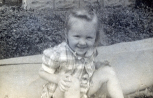 Judith Hinton at about 1 years old (circa 1940)