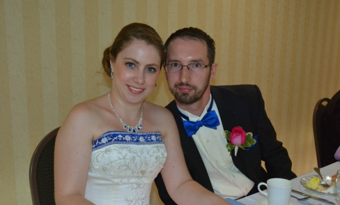 Mr. and Mrs. Joseph Wisnoski, married June 13, 2015