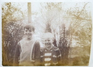 Steve and I in 1973