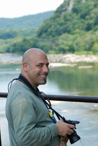 Dean at Harper's Ferry, West Virginia (2009).